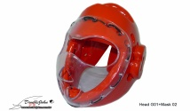 Head G01(Red)+Mask 02(transpartent)