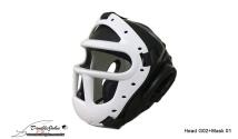 Head G02(Black)+Mask 01(white)