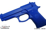 M-001(S-008) BL Rubber Gun;手槍藍