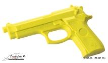 M-001(S-008) YL Rubber Gun;手槍黃