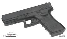 M-002 BK Rubber Gun;橡膠槍黑
