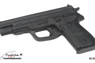M-006 BK Rubber Gun;橡膠槍黑