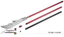 TS-320 Aluminum Assembled Long Stick; 組合式鋁棍